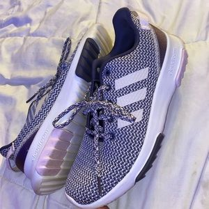 Purple Adidas Tennis Shoes